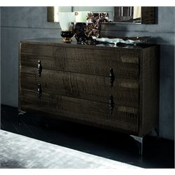 Rossetto Dune Visone 3 Drawer Dresser in Beige