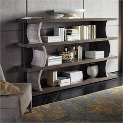 Rossetto Dune Visone 4 Shelf Bookcase in Beige