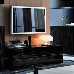 Rossetto Nightfly Flap Door Base Unit in Ebony