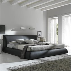 Rossetto Coco Platform Bed in Brown - Queen
