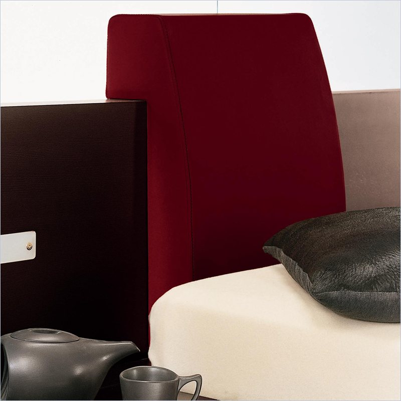 Win Headboard Pillow in Red (Set of 2)