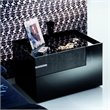 ADD TO YOUR SET: Rossetto Diamond Right Night Stand in Black