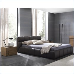 Rossetto Cloud Brown Platform Bed 3 Piece Bedroom Set