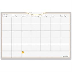 At-A-Glance WallMates Dry Erase Mthly Plan Surface