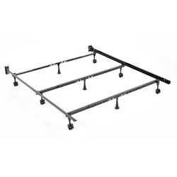 Fashion Bed Solutions Universal Folding Bed Frame in Black