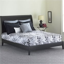 Fashion Bed Java Modern Platform Bed in Black Finish