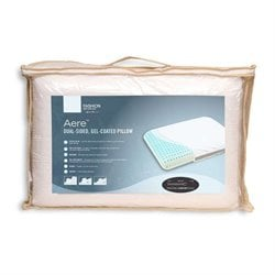 Fashion Bed Aere Memory Foam Pillow in White