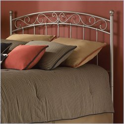 Fashion Bed Ellsworth Spindle Headboard in Bronze - Queen