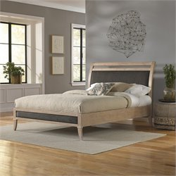 Fashion Bed Delano Upholstered King Platform Bed