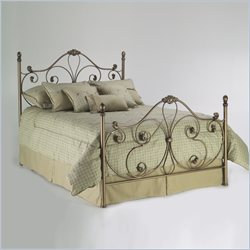 Fashion Bed Aynsley Majestique Metal Poster Bed - Twin