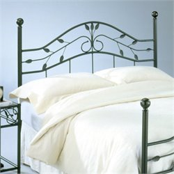 Fashion Bed Sycamore Spindle Headboard in Bronze - Queen