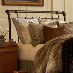 Fashion Bed Legion Sleigh Headboard in Gold - Queen