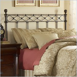 Fashion Bed Argyle Spindle Headboard in Copper - King