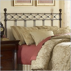 Fashion Bed Argyle Spindle Headboard in Copper - Queen
