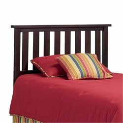 Slat Headboard in Merlot