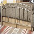 Ellsworth Metal Poster Bed in New Bronze Finish