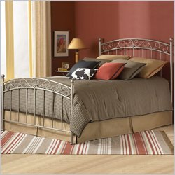 Fashion Bed Ellsworth Metal Poster Bed in New Bronze Finish - Twin
