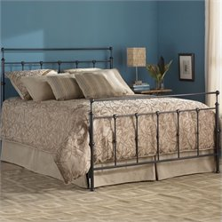 Fashion Bed Winslow Metal Bed in Mahogany Gold Finish - King