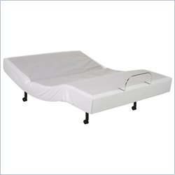 Fashion Bed Brio Bello Adjustable Base with a Control in Beige - Twin XL