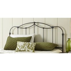 Fashion Bed Affinity Headboard in Blackened Taupe - King