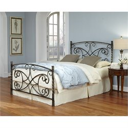 Fashion Bed Charisma Bed in Copper Chrome