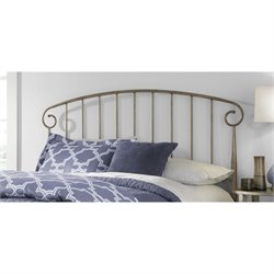 Fashion Bed Dalton Headboard in Gold - King