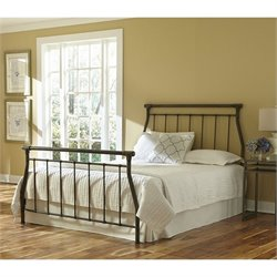 Fashion Bed Morraine Bed in Blackened Taupe - Queen