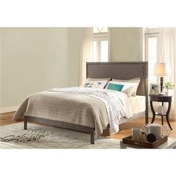 Fashion Bed Normandy Bed in Steel Gray