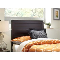 Fashion Bed Uptown Headboard in Espresso - Twin