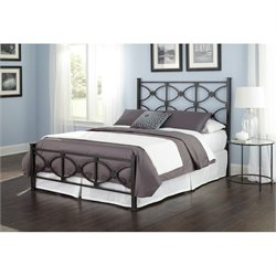 Fashion Bed Marlo Bed in Black - Queen