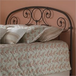 Fashion Bed Grafton Spindle Headboard in Rust Gold