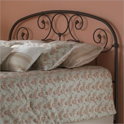 Fashion Bed Grafton Spindle Headboard in Black - Queen