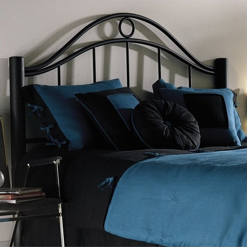 Fashion Bed Linden Metal Bed in Ebony Finish