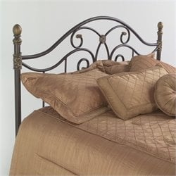 Spindle Headboard in Brown