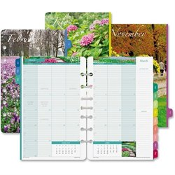 Day-Timer Garden Path Monthly Planner Refills