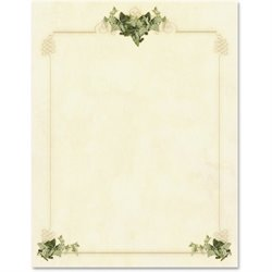 Geographics Ivy Corners Letterhead Paper (Set of 100)