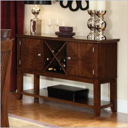 Standard Furniture Regency Server in Sienna Brown