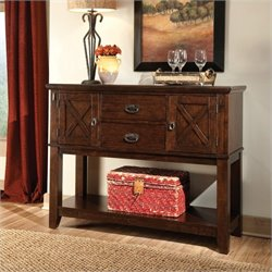 Standard Furniture Sonoma Sideboard in Warm Oak Finish