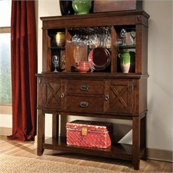 Standard Furniture Sonoma Sideboard and Hutch Set