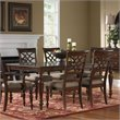ADD TO YOUR SET: Standard Furniture Woodmont Rectangular Dining Table with Leaf in Brown Cherry