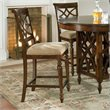 ADD TO YOUR SET: Standard Furniture Woodmont Stool in Brown Cherry