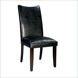 Standard Furniture La Jolla Parson's Chairs Chair Semi in Black