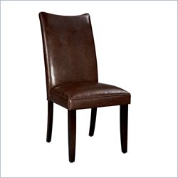 Standard Furniture La Jolla Parson's Chairs Chair in Brown