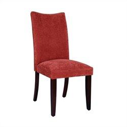 Standard Furniture La Jolla Parson's Chairs Chair in Red