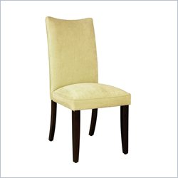 Standard Furniture La Jolla Parson's Chairs Chair in Yellow
