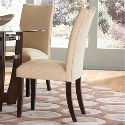 Standard Furniture La Jolla Parson's Chairs Chair in Camel
