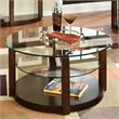 ADD TO YOUR SET: Standard Furniture Coronado Coffee Table with Casters in Chocolate
