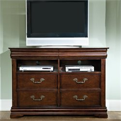 Standard Furniture Westchester TV Chest in Cherry