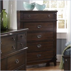 Standard Furniture Sonoma Chest in Dark Brown