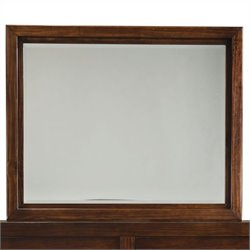 Standard Furniture Metro Mirror in Dark Merlot